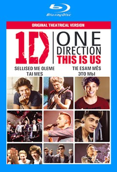 One direction: Sellised me oleme Blu-ray 3D